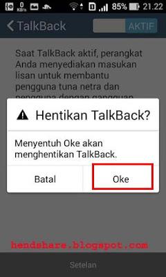 Cara Menonaktifkan Fitur Aksesibilitas TalkBack pada Smartphone Android