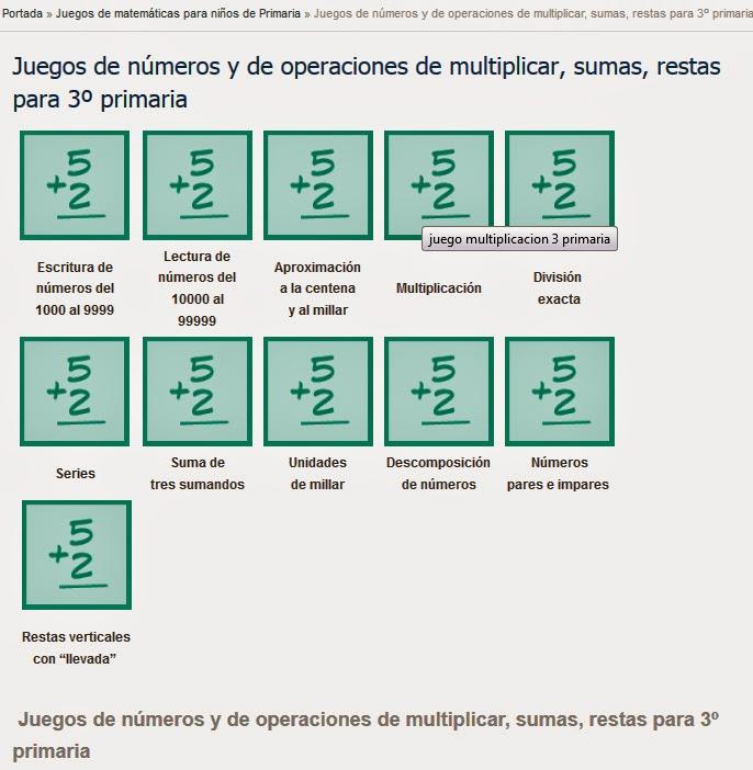 http://www.mundoprimaria.com/juegos-matematicas/juegos-numeros-multiplicar-sumas-restas-3o-primaria