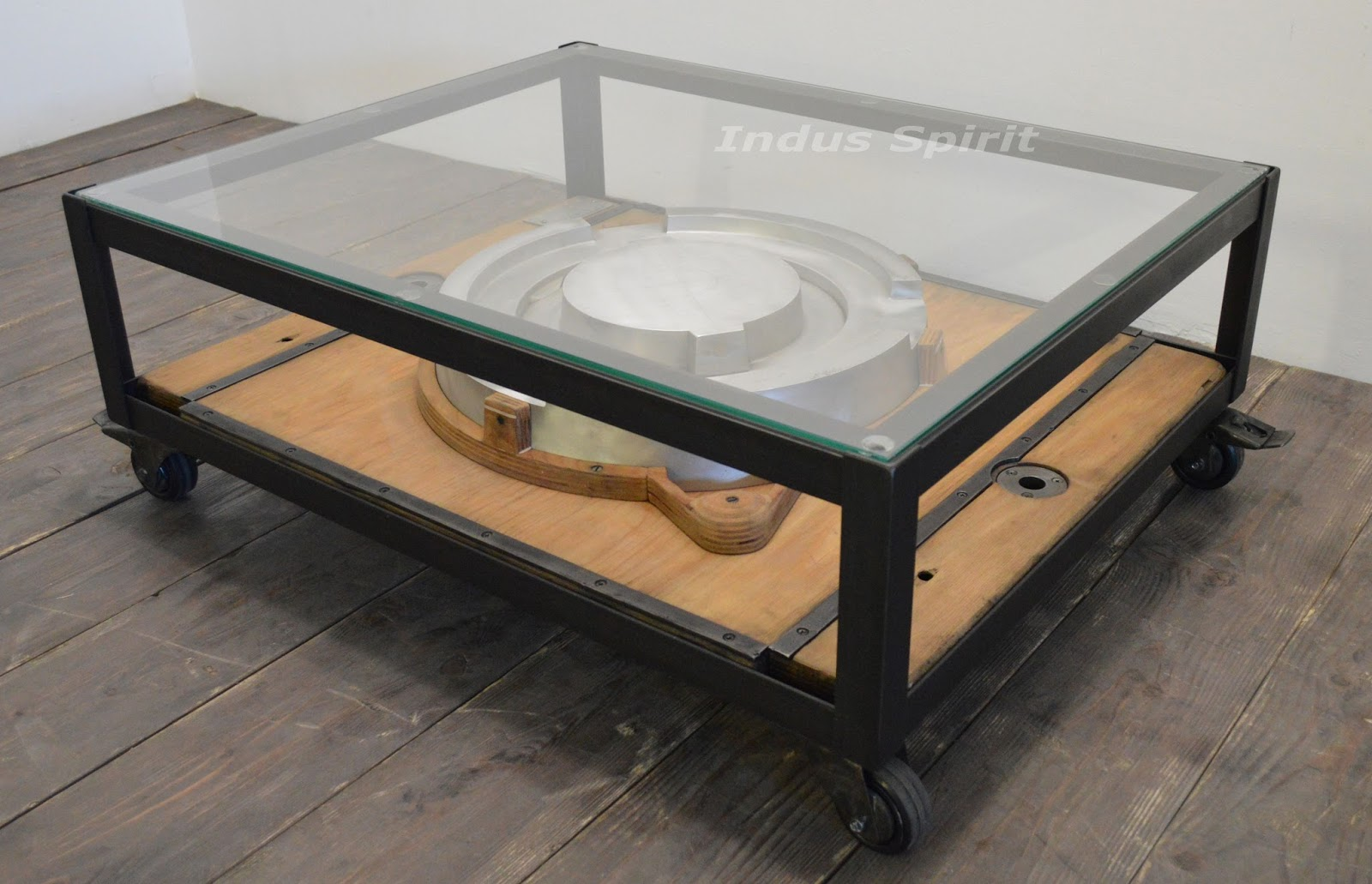 Table basse design industriel - Table basse design industriel ...