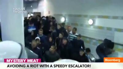 Polícia Sueca usa inteligência para conter uma claque