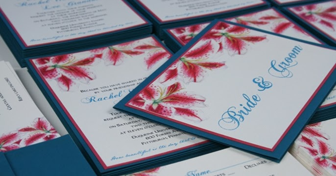 Wedding Blossoms: Teal and Pink Wedding-Stargazer Lily ...