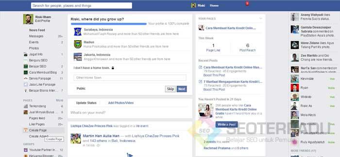 Pasang Iklan Gratis di Facebook 2