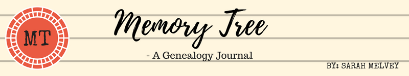 Memory Tree Genealogy Journal