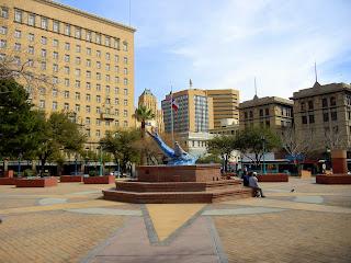 San Hacinto Plaza in El Paso