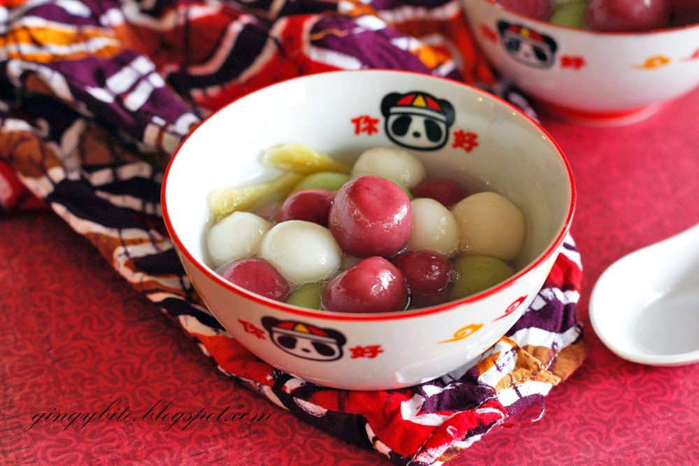 Natural Coloring Tang Yuan 汤圆