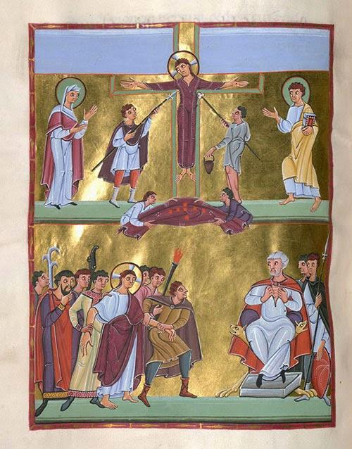 Triduum Pascal dans images sacrée Paques