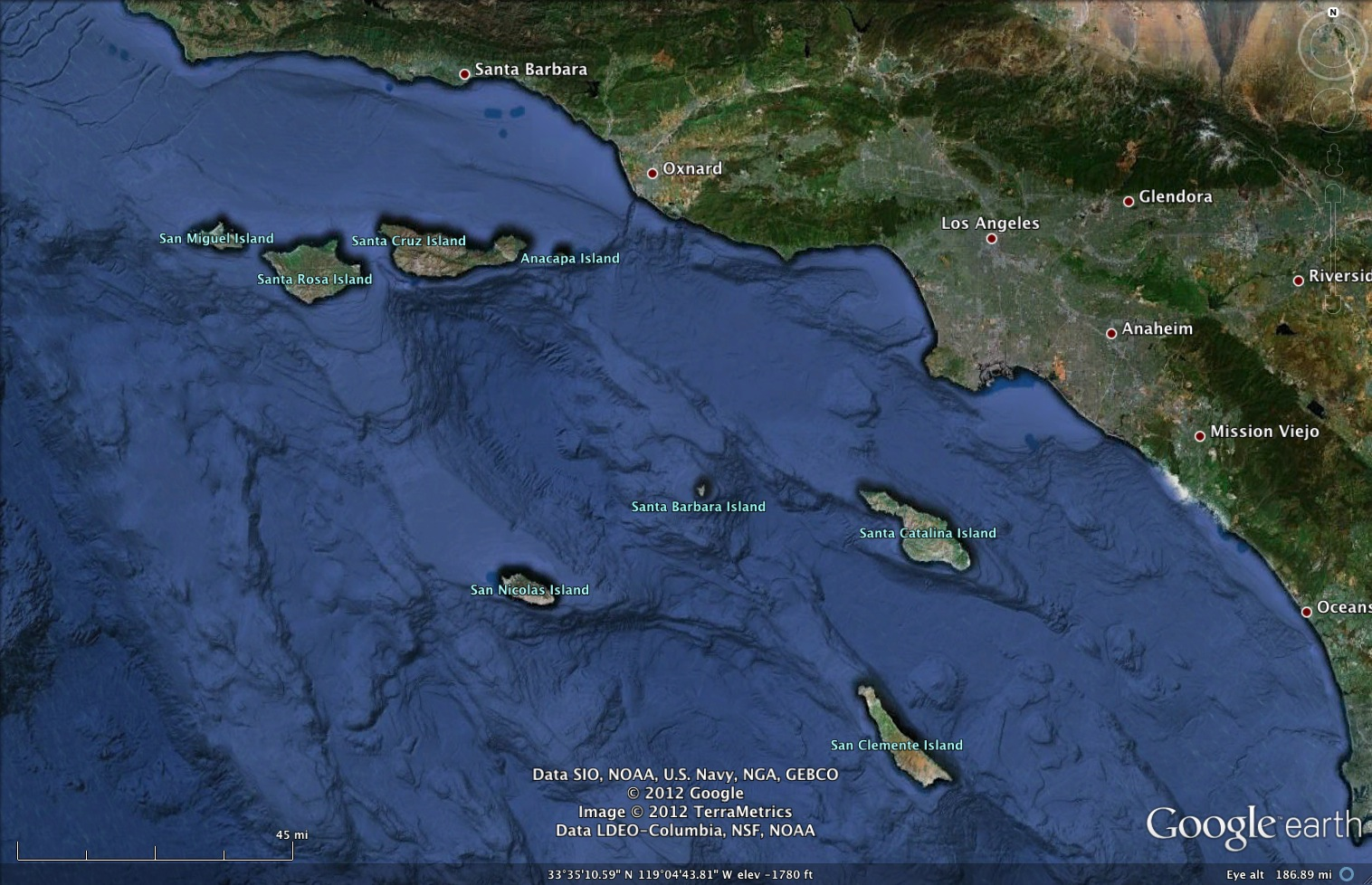 Five Of The Islands Are Owned By The Federal Government As The Channel Islands National Park Part Of Santa Cruz Santa Rosa San Miguel Anacapa
