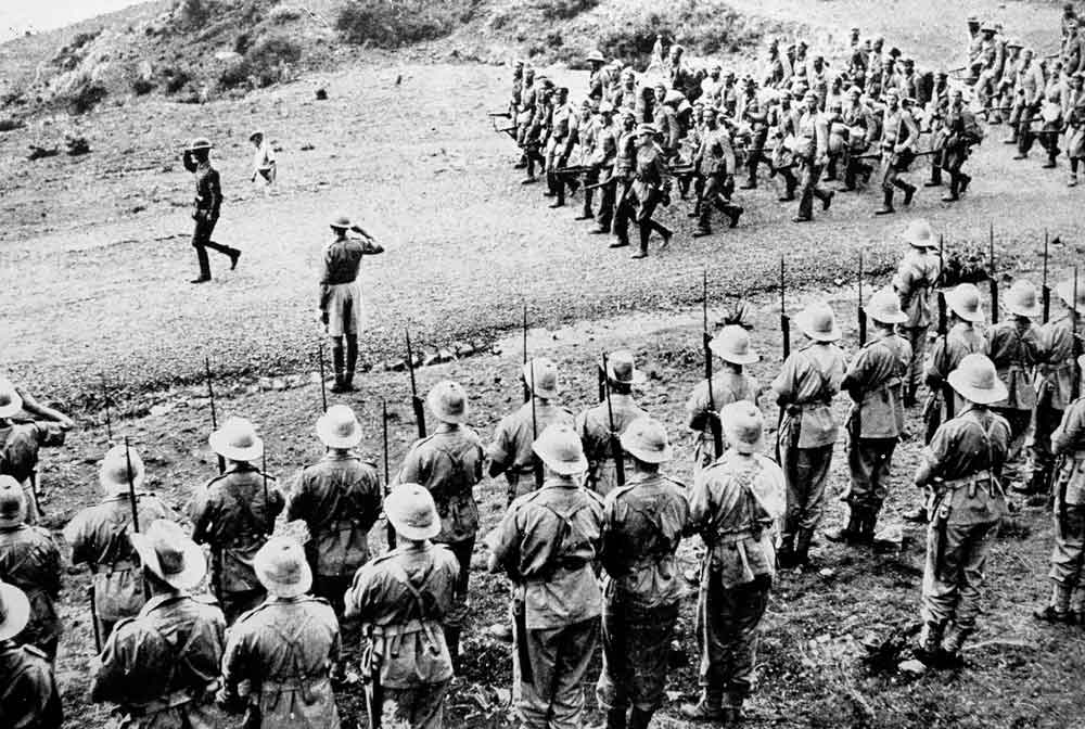 italian aggression in abyssinia essay Ethiopia (abyssinia), which italy had unsuccessfully tried to conquer in the   although mussolini's aggression was viewed with disfavour by the.