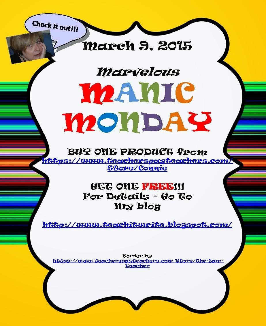 Marvelous Manic Monday