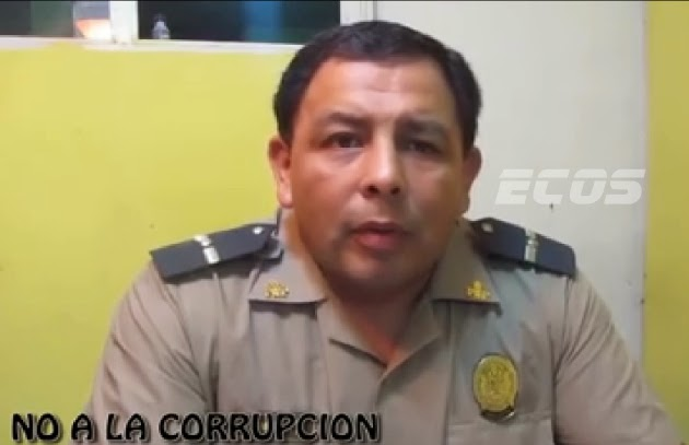 Video: Valiente Suboficial de la PNP denuncia actos de corrupción en su institución