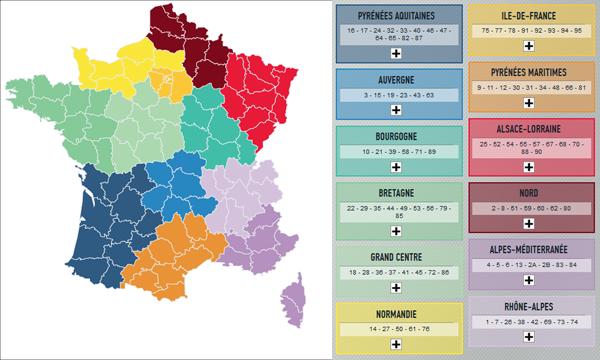 Toi aussi, dessine ta nouvelle carte de France