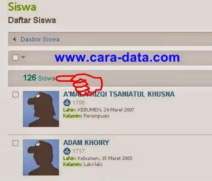 Data Siswa