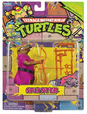 Playmates Teenage Mutant Ninja Turltles TMNT Classic Collection Splinter Figure