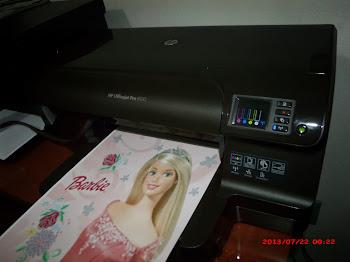 Imprimimos sua foto no papel de arroz