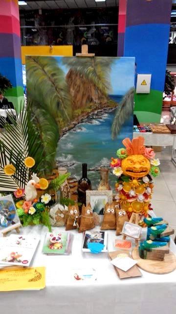 живопись и тайский карвинг ARTLIGHT пространство