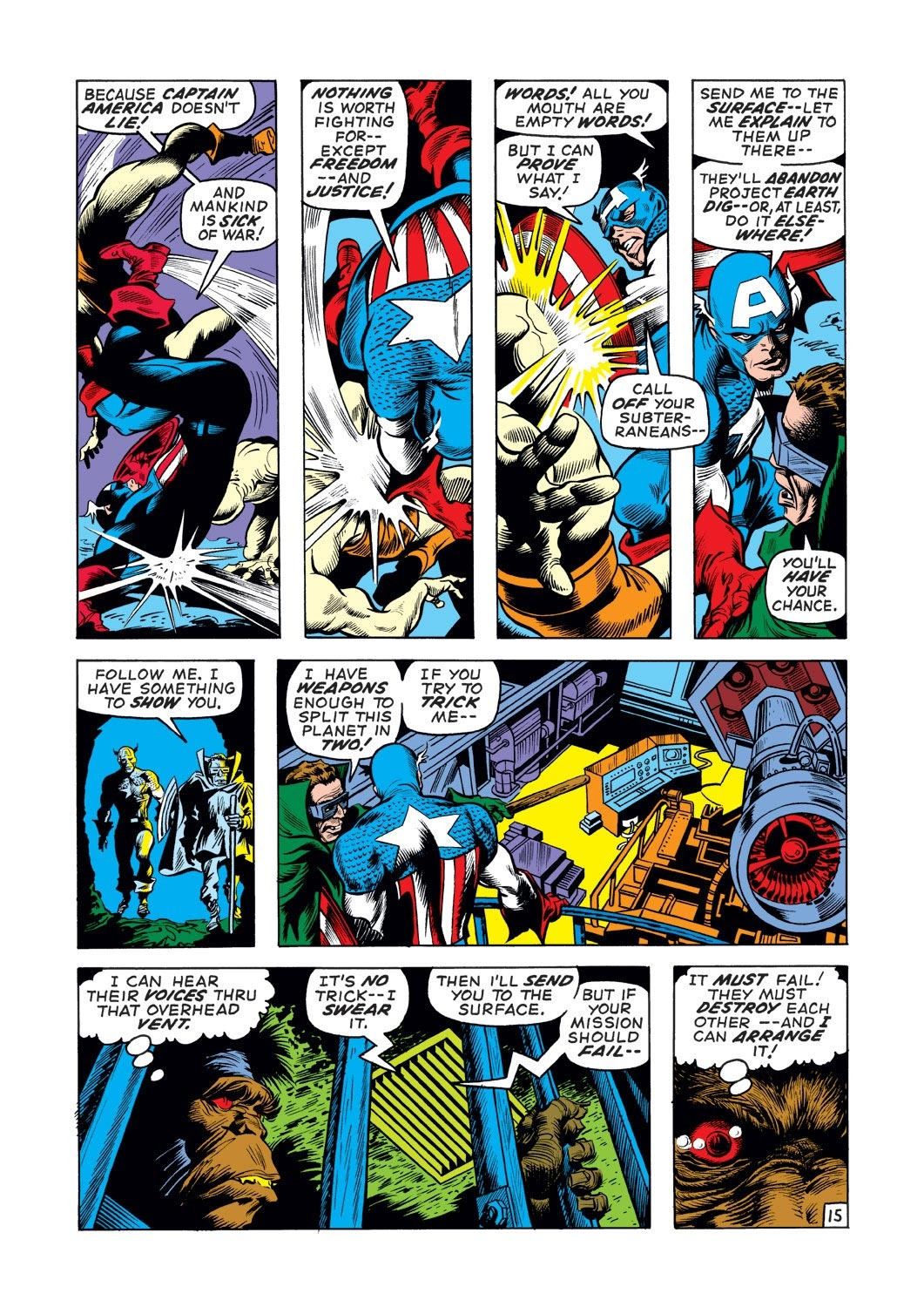 Captain America (1968) Issue #136 #50 - English 15