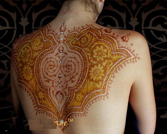 Mehndi For Teenage Girls : Mehndi designs: full body designs
