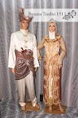 Baju Perkahwinan Krim Coklat