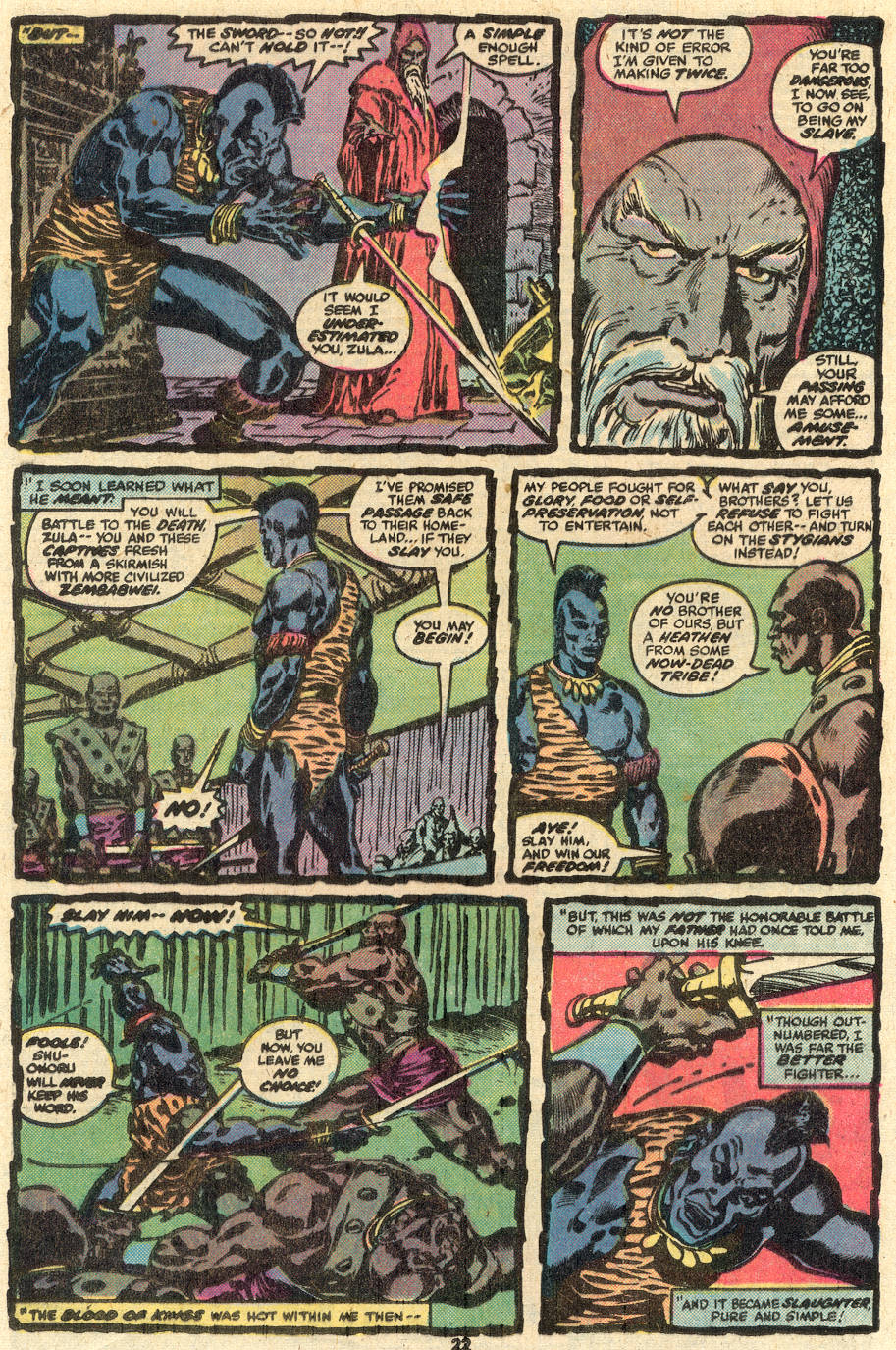 Conan the Barbarian (1970) Issue #85 #97 - English 13
