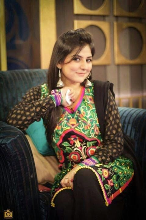 Beautiful Sanam Balouch Wearing Beautiful Dresses On Her