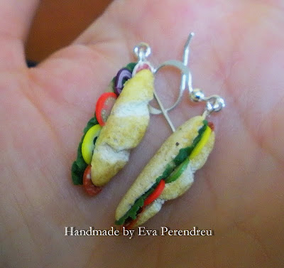 funny handmade jewelry: earrings