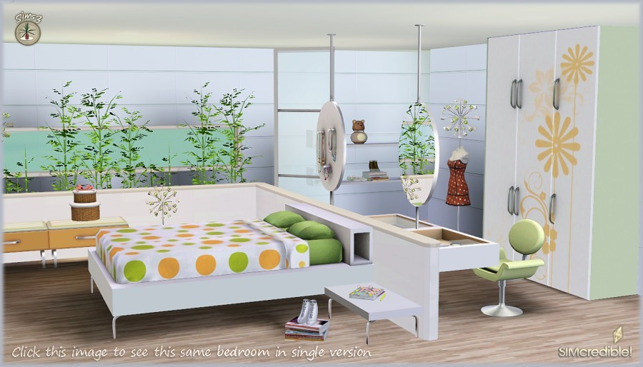 Sims 3 bedroom decor