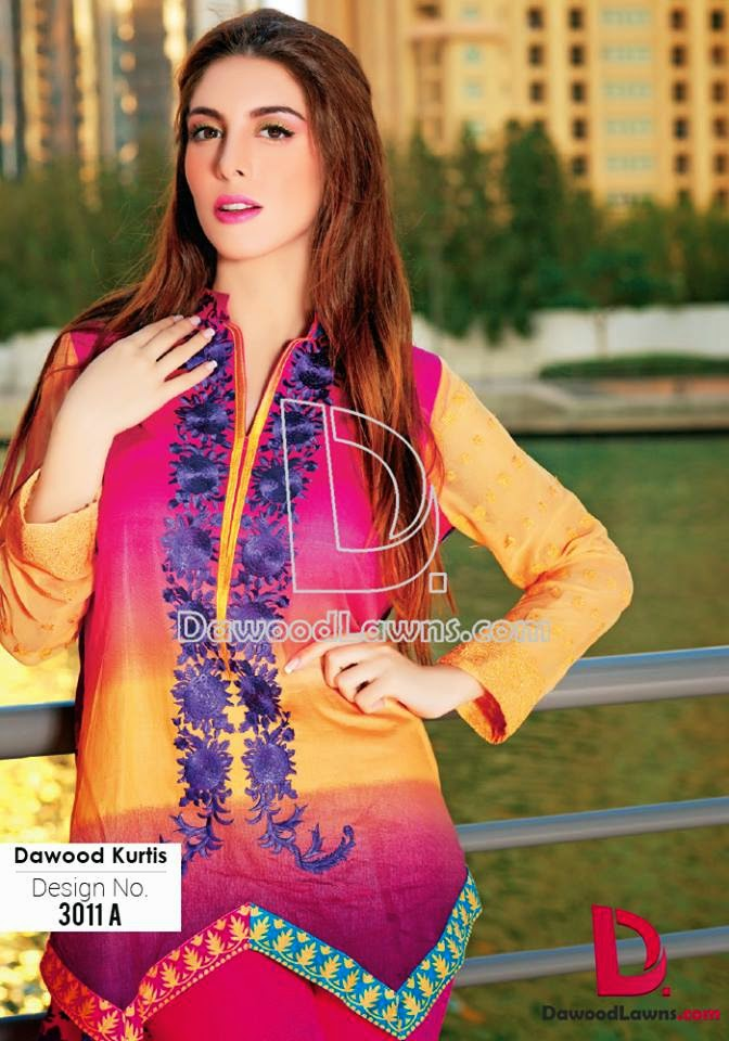 Embroidered Kurti Catalog