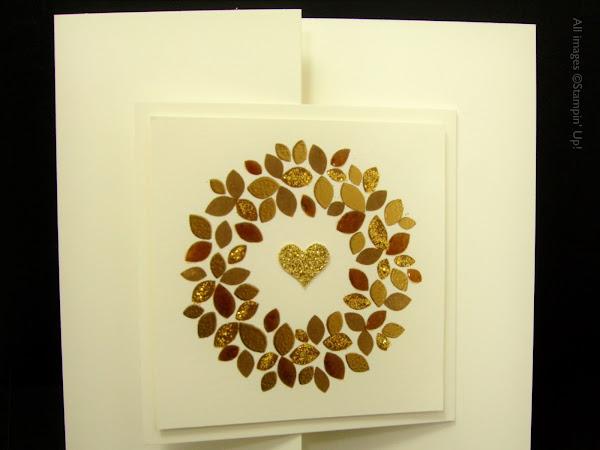 "6"" x 6"" Wonderous Wreath Card"