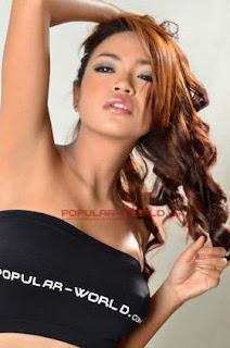 Nadine Ayu for Popular World Magazine BFN, June 2013