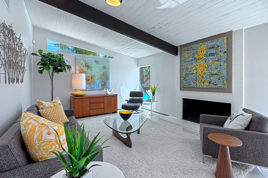 fully renovated Mid-century Alexander Home in racquet club estates