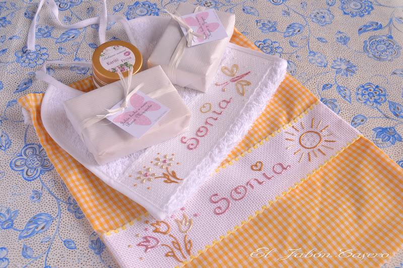 conjunto personalizado para el nacimiento