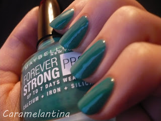 Maybelline Hyper Jade swatch review