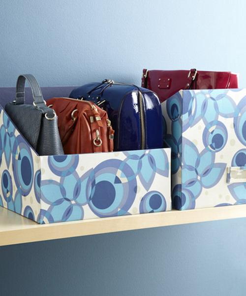 Practical bag storage ideas - Como guardar los bolsos ordenados ...