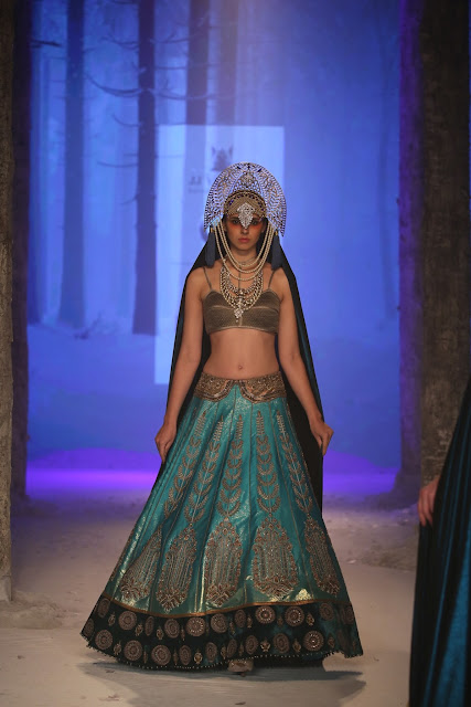 JJValaya-BMW-Indian-Bridal_Fashion-Week-lehenga