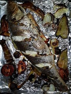 דג מוסר בתנור 1