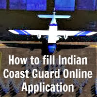 How to Apply Indian Coast Guard Online Application