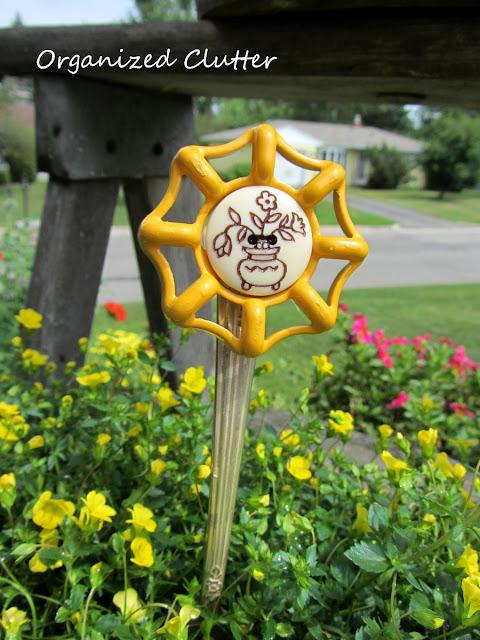 Fork handle valve faucet flowers