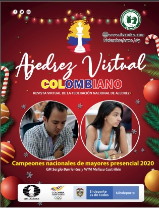 Revista Ajedrez Virtual Colombiano Edición Nro.8 (Dar clic a la imagen)
