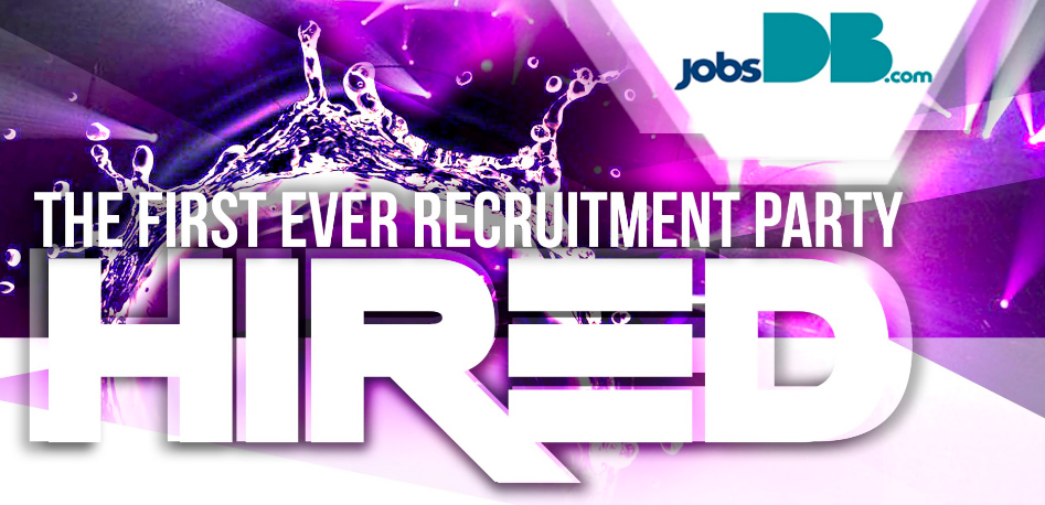 Hired the jobsdb recruitment party enjoying wonderful world jobsdb with opportunities and possibilities with many great things people can explore stopboris Choice Image