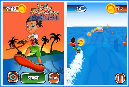 Download WakeBoarding Mayhem v1.0 Android Apk Free