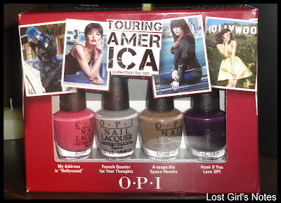 opi touring america fall 2011 swatches and review
