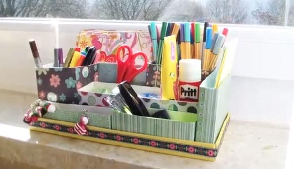 Beautiful Diy Desk Organizer Ideas Inside Design
