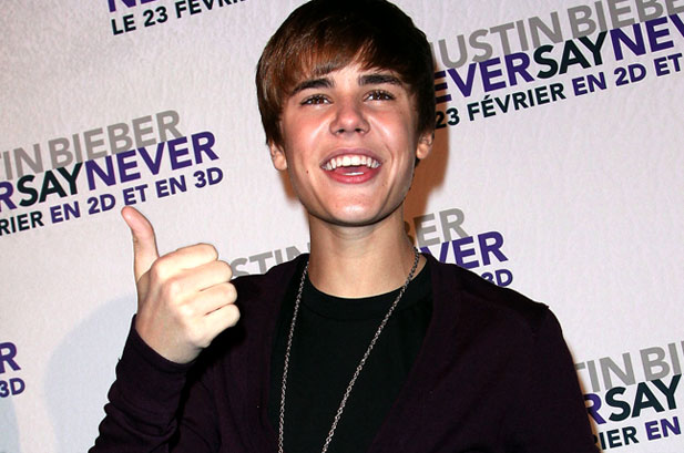 justin bieber never say never album cover. Justin Bieber Never Say Never