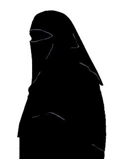 burkha silhouette