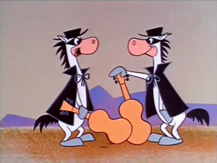 Quick draw mcgraw and baba looey