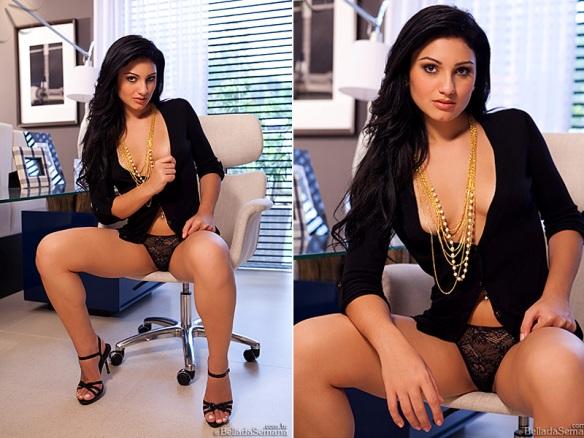 Confira As Fotos Do Ensaio Sensual De B Rbara Zavarese