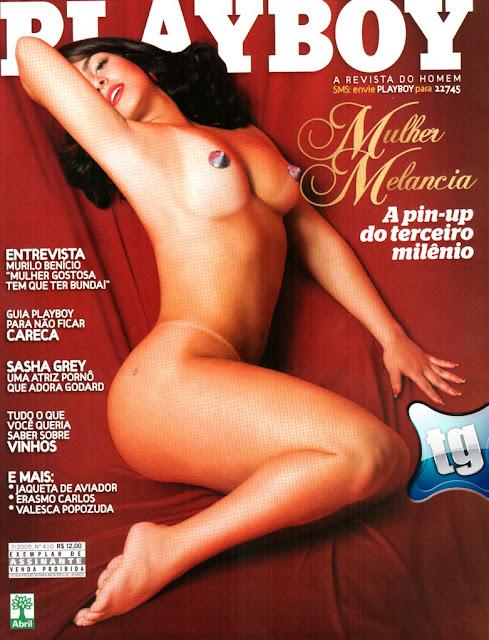 Confira as fotos da mulher melancia, Andressa Soares, capa da Playboy julho de 2009!