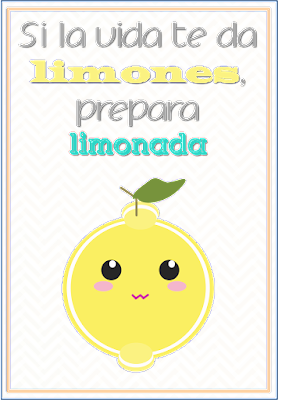 freebies descargables si la vida te da limones