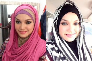 Gambar Puteri Sarah bertudung