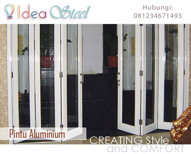 Pintu Aluminium ~ IDEA STEEL
